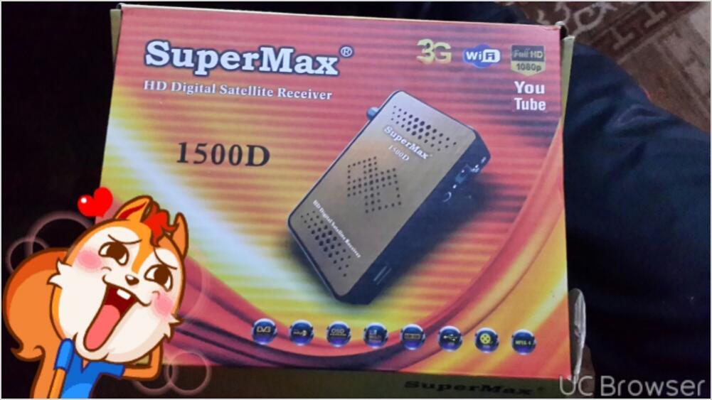 ارجو المساعده في رسيفر Super Max 1500D | Soft4sat Forums